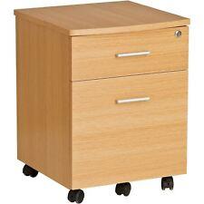 2 Drawer A4 Suspension Filing Cabinet W Lock Oak Finish Piranha Furniture Blenny