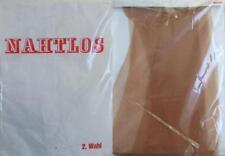 1 x NYLONS - NAHTLOS - 60/70er - GR. 9 - 9 1/2