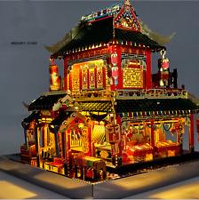 Chinese Mercery Store Assemble Toys Decor 3D Diy Creative Metal Building Blocks