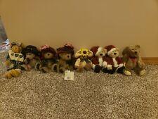 Boyds Bears Sylvia G. Bearimore #918438 2000 6� Plush W/Scarlet Hat Nwt