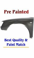 New PRE PAINTED Driver LH Fender for 2005-2008 Audi A4 w FREE Touchup