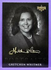 Decision 2020 Ser 1 Trading Cards Candidate Portraits Gretchen Whitmer #CP12