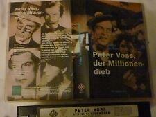 Peter Voss, der Millionen-Dieb mit Viktor de Kowa s/w FSK ab 12 Jahre VHS gebr.