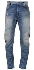 G Star Arc Loose Tapered Blue Denim Wash Jeans Womens 30W 32L *REF25-6