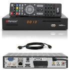 Full HDTV HD OPTICUM Sloth Classic Digital SAT Receiver IPTV IP TV HDMI LAN red