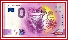 Billet Touristique Souvenir 0 Euro S.O.S SENIOR Pandémie 2020 Corona Cov!d