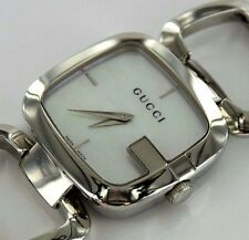 GUCCI 125.4 Mother of Pearl Dial Stainless Steel Lady's Swiss Watch