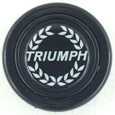 Triumph logo steering wheel horn push button. Fits Momo Sparco OMP Italvolanti