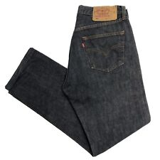 LEVIS Vintage 501 Blue Mens Straight Regular Jeans W33 L32 (S303)