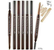 New Etude House Drawing Eye Brow #02 Gray Brown, Grey EyeBrow Auto Pencil