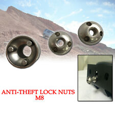 M8 Anti Theft/Security Nuts Universal Key for Led Driving Work Light Spotlight