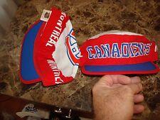MONTREAL CANADIENS FLETCHER   90'S 80'S  PAINTER HAT CAP VINTAGE PAINTERS