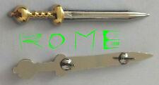 Rome Roman Eagle Cohort Ceasar Legion Army War Pax SPQR Sword Award Pin Gift X V