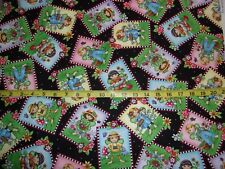 Mary Engelbreit Cotton Marys Fairies Pack Allover Black Cotton Fabric BHTY