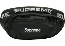 Supreme SS18 Waist Bag Fanny Pack Black Cordura Shoulder Bag **100% Authentic**