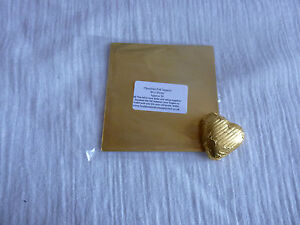 40 - 50 Square Foil Wrappers in Gold for Chocolates & Sweets. 80mm x 80mm.