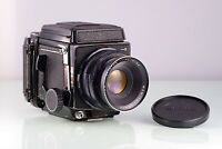 CLASSIC MAMIYA SLR 6X7 RB67 PRO S + SEKOR 127mm + WLF 120 CLA TESTED USED