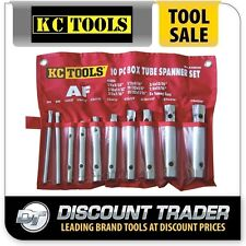 KC Tools Box Tube Spanner Set 10 Piece Imperial - A13050