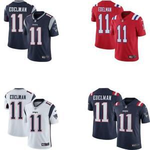 Julian Edelman Patriots Men Game Jersey White / Red / Navy / Rush
