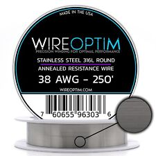 Ss 316l 38 Awg Stainless Steel Wire 316l 01007mm 250