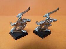 (C929) WARHAMMER (citadel) SKAVEN WITH SWORD x2 METAL OOP LOT 1