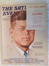 Vintage Saturday Evening Post Magazine September, 1975 John F. Kennedy