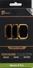 PolarPro Cinema Filter 3er Pack f. DJI Mavic 2 Pro ND128 ND256 ND1000 Graufilter
