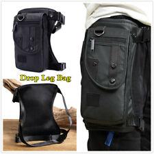 Waist Bag Thigh Drop Motorcycle Leg Bag Riding Backpack Cross Body Waterproof (Fits: Bourget's Bike Works)
