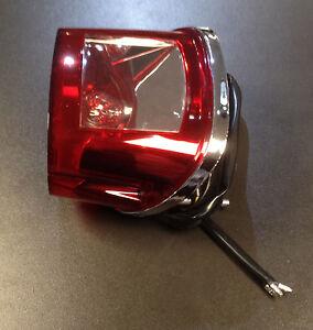 Rear light / tail lamp back lens mount complete unit for Keeway Superlight 125