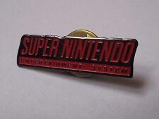 Pin's jeu vidéo / Super nintendo - entertainment system