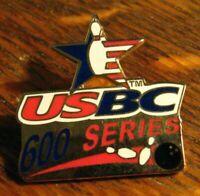 USBC 600 Series Lapel Pin - United States Bowling Congress Bowler Jacket Badge