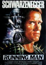 RUNNING MAN - 1987 - Filmplakat - Schwarzenegger - Poster