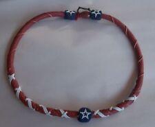 Dallas Cowboys Spiral Football Necklace