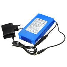 Bateria Li-Ion Recargable Para Tiras Led 9800mAh 12V Con Enchufe EU Cargador