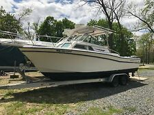 1988 Grady-White 252 sailfish  2001 twin mercury EFI 250 HP not run