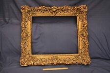 More details for vintage gilt gesso frame