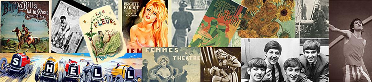Vintage Art Reprints Gicleé Prints