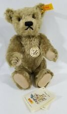 "LM VINTAGE Steiff 000713 Classic 1920 9.8"" Gold Mohair Jointed Teddy Bear NEW"