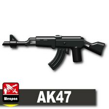 AK-GL Rifle with grenade launcher compatible with toy brick minifig AK47 W221
