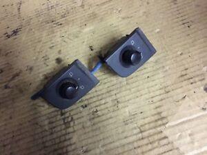 AUDI TT MK1 1998 - 2006 WING MIRROR SWITCH BLACK knob adjuster 8N2959551B