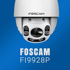 Foscam FI9928P FULL HD IR Netzwerk IP CAM ÜERWACHUNG KAMERA 4XOPTISCHER ZOOM PTZ