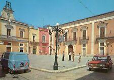 SQUINZANO (LE) - Piazza Plebiscito - animata - automobili vintage