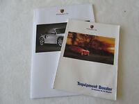 2001 Porsche Boxster &S Tequipment Accessories Brochure & Full Line Fldt Catalog