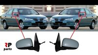 FOR NISSAN ALMERA N16 2000-2002 NEW WING MIRROR ELECTRIC PRIMED PAIR SET LHD
