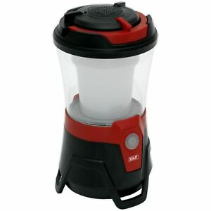 Sealey 10 SMD LED Rechargeable Lantern with Wireless Speaker Camping Fishing
