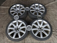 "Audi TT 8N 1998-2006 MK1 Quattro 18"" 5x100 8J Genuine Alloy wheels +tyres RS4 S3"