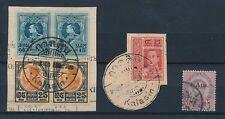 THAILAND SIAM KALASIN POSTMARKS 6 stamps