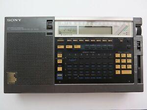 Sony ICF-2001D RADIO , AIR/FM/LW/MW/SW World Receiver Shortwave