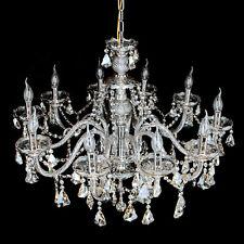 3/6/10 Light Clear/Cognac Crystal Chandelier Home Decoration Pendant Lights 110V