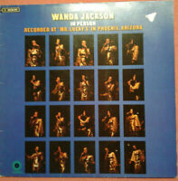 Wanda Jackson / In Person / LP Vinyl Album mit Schutzhülle
